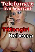 Tittenfick mit Busenstar Rebecca privat am Telefon